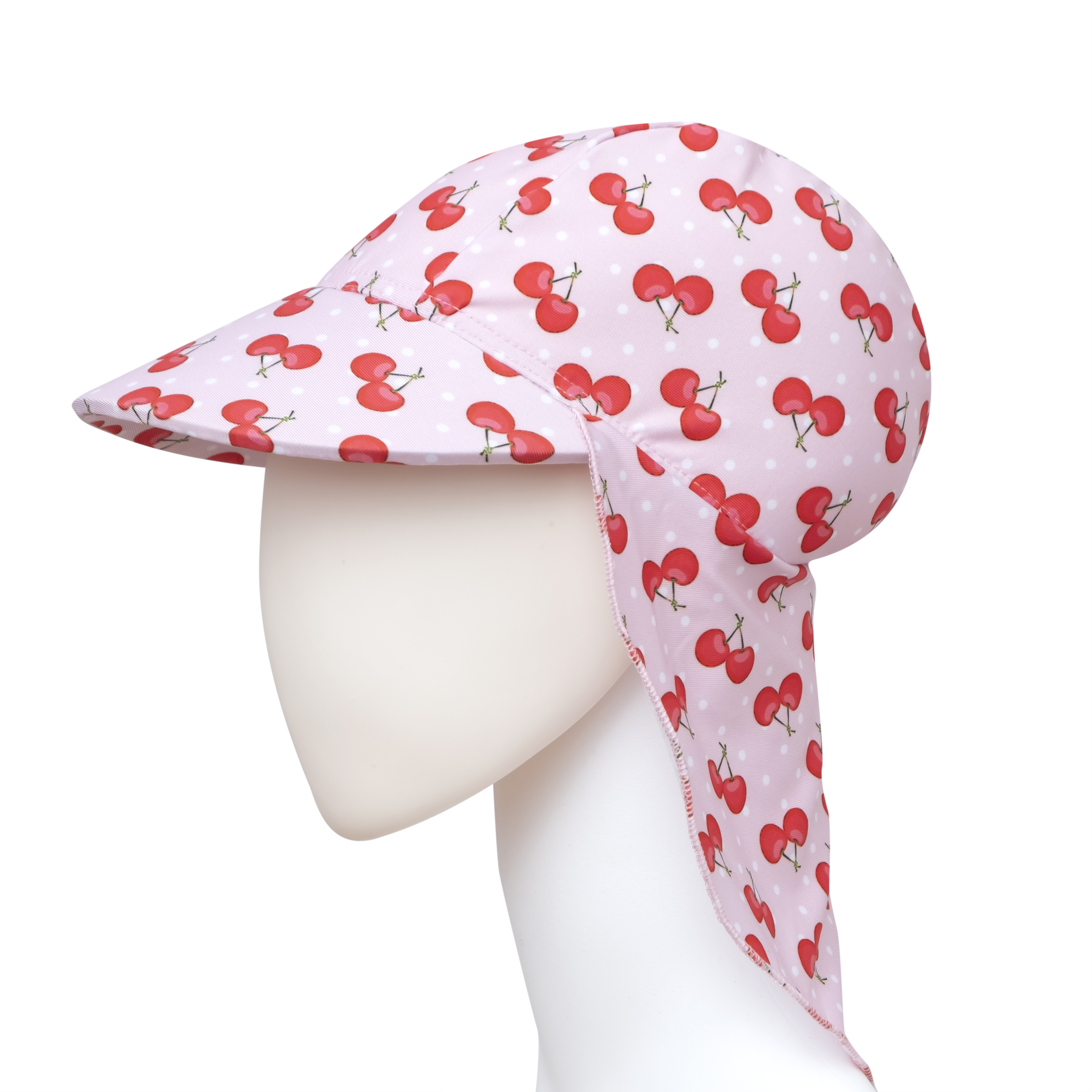 Cherry Bademütze - Schirmmütze - Schwimmmütze